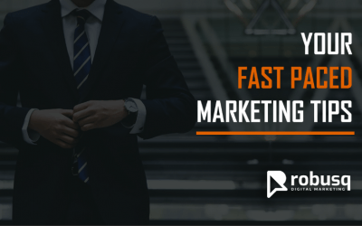 Welcome To Your Fast Paced Marketing Tips